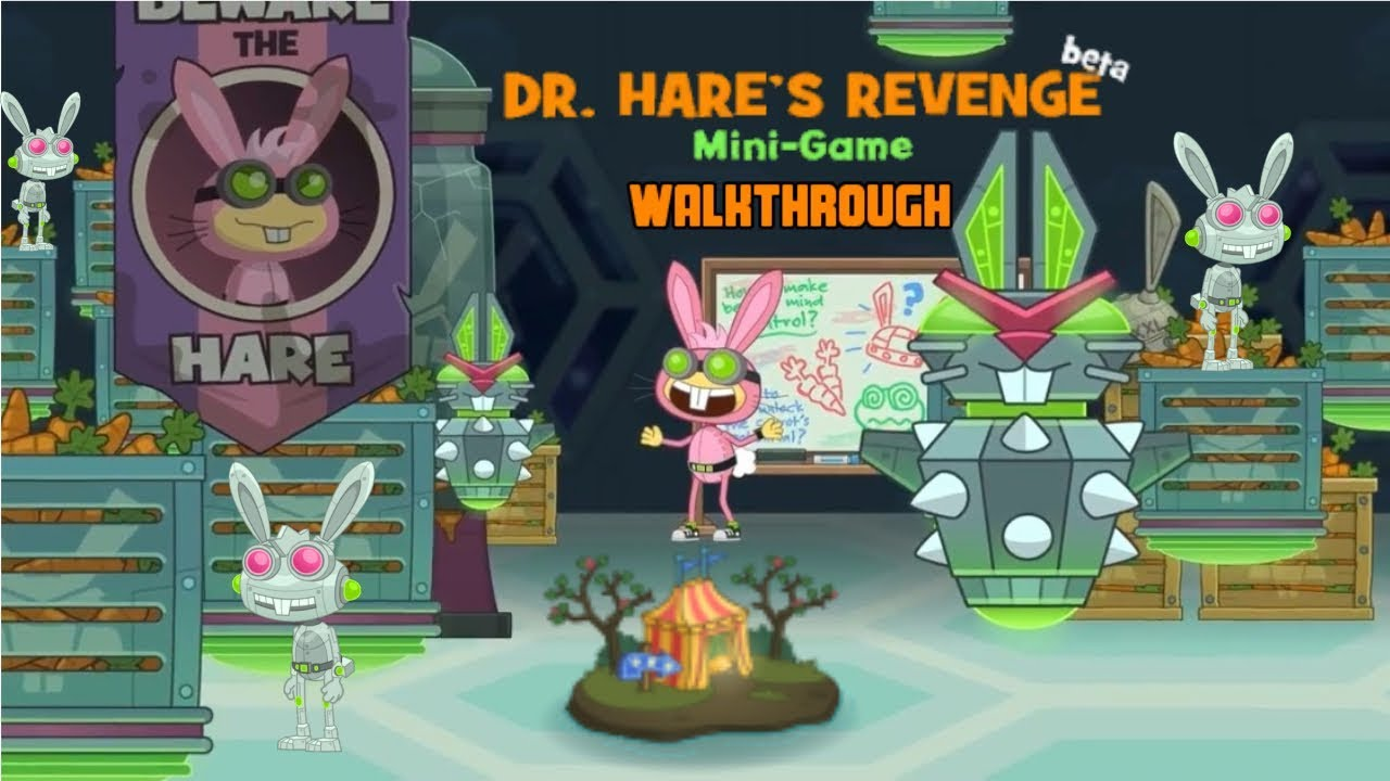 Image result for revenge of doctor hare poptropica