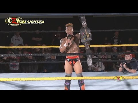 CZW Proving Grounds: Lio Rush's controversial post-match comments! (StreamCZW.com)