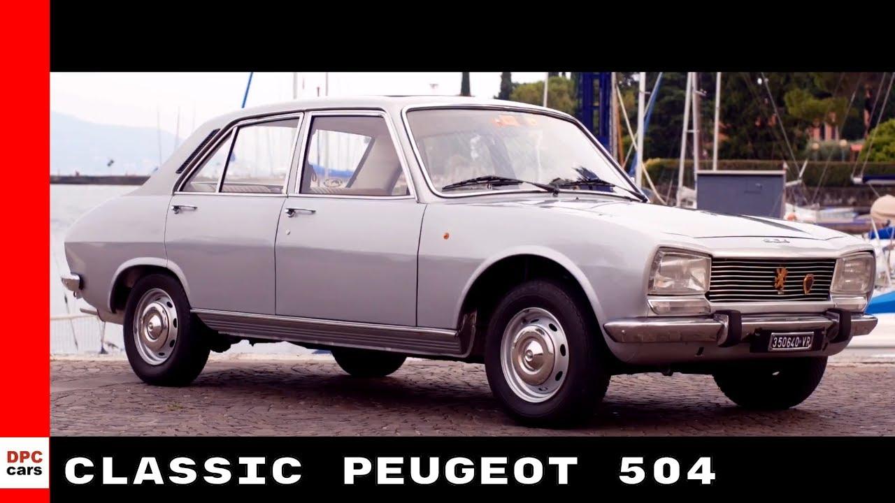 Classic Peugeot 504 Youtube