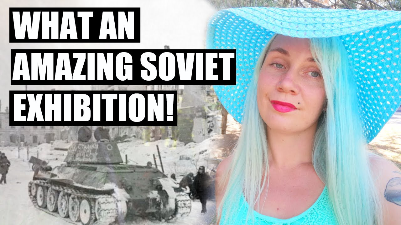 A SOVIET exhibition in the streets of my RUSSIAN town!