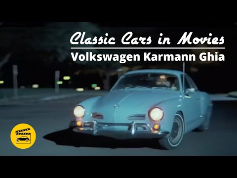 Classic Cars In Movies - Volkswagen Karmann Ghia