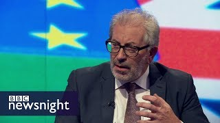 No deal on Brexit would be 'utter and complete disaster' - BBC Newsnight