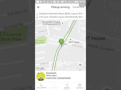 How to cancel booking in ola cabs? How to cancel ride in ola cabs ?