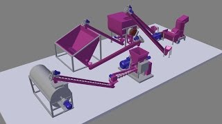 Линия экструдирования мясокостных отходов(Использование линий экструдирования в процессе переработки мясокостных отходов обеспечивает соблюдение..., 2015-03-26T10:26:51.000Z)