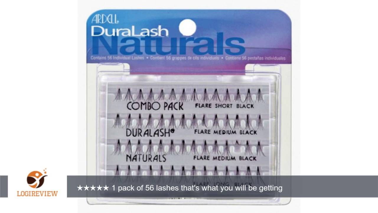 5e110371d01 Ardell Duralash Naturals Combo Pack, Black, (Pack of 2) | Review/Test