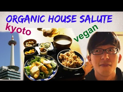 Lunch at Organic House Salute (Kyoto) - Our First Negative Review :(