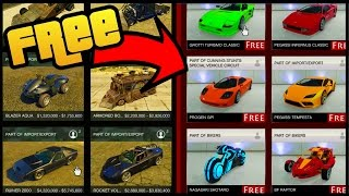 HOW TO GET EVERYTHING FOR FREE IN GTA 5 ONLINE!
