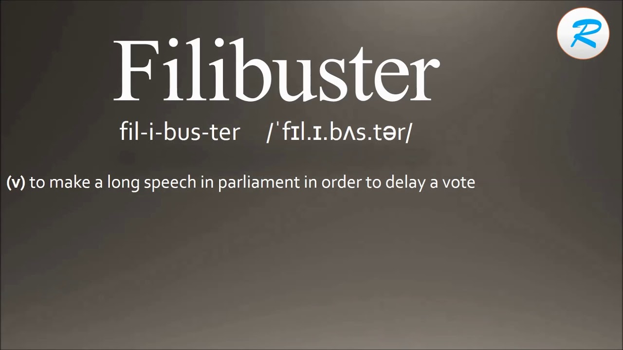 How To Pronounce Filibuster | Filibuster Pronunciation | Filibuster Meaning  | Filibuster Definition