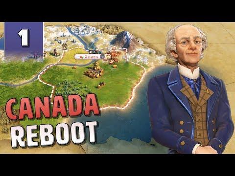 [1] Civilization 6 Canada Reboot - Civ 6 Gathering Storm with June Update