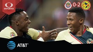 Resumen Chivas 0 - 2 América | Clausura 2019 - Jornada 11 | Televisa Deportes