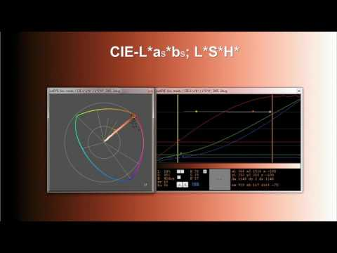 catEYE and CIE-L*a*b* - LSh ColorSpace
