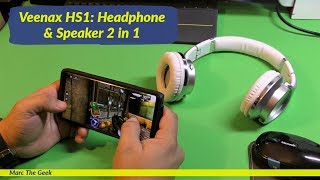 Veenax HS1: Headphone & Speaker 2 in 1