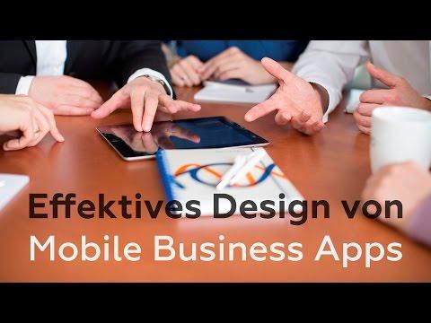 Webinar Mitschnitt: Effektives Design von Mobile Business Apps