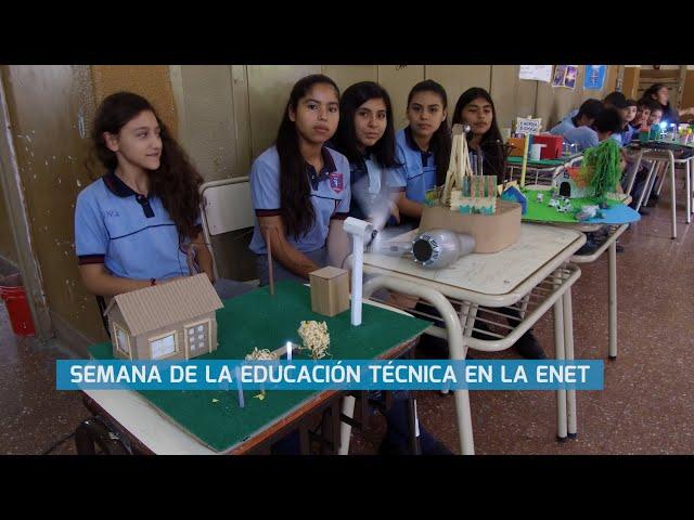 SEMANA DE LA EDUCACIÓN TÉCNICA EN LA ENET