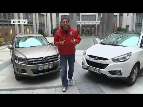 im vergleich Hyundai ix35 VW Tiguan motor mobil