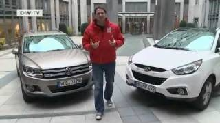 im vergleich Hyundai ix35 VW Tiguan motor mobil смотреть