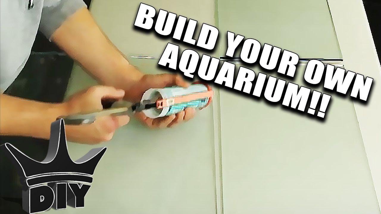 BUILD AN AQUARIUM IN MINUTES!!