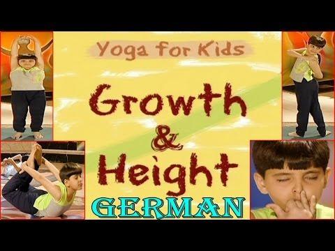 Yoga for kids - Growth & Height - Your Yoga Gym - German