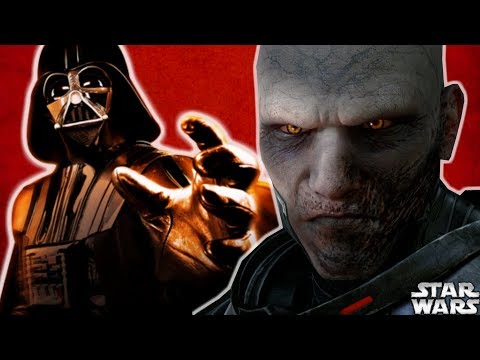 Who Was Darth Vader's FAVORITE Sith Lord? - Star Wars Explained