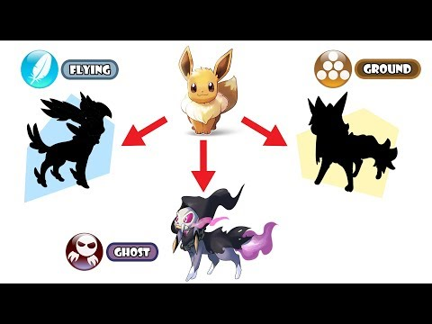 New Eeveelution Type - Flying, Ground And Ghost Type.