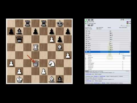 ♚ GM Anton Korobov ☆Bullet Chess Games ☆ Internet Chess Club, ICC Windows Interface