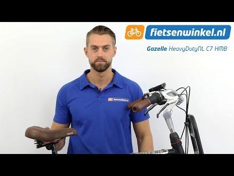 c7021bdd0b9 Gazelle HeavyDuty NL C7 HMB Review | E-bike - YouTube