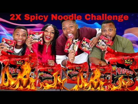 2X Spicy Noodle Challenge Family Edition