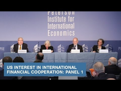 US Interest in International Financial Cooperation: Panel 1