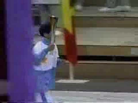 1998 Nagano Opening Ceremonies - Lighting of the Cauldron
