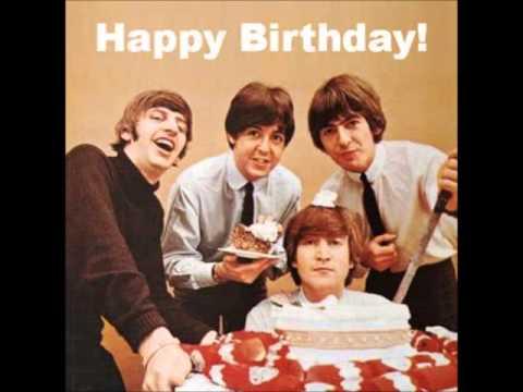 Beatle Happy Birthday Cake