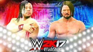 WWE 2K17 Shinsuke Nakamura vs AJ Styles Feat  BREAKOUT and OMG MOVES
