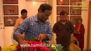 KV Anand Father KM Venkatesan Passes Away