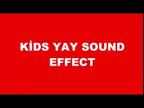 Kids Yay! Sound Effect