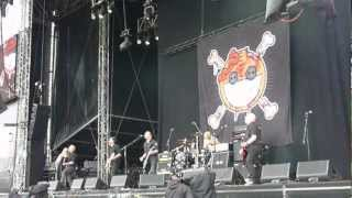 Ginger Wildheart - Very, Very Slow + Suckerpunch, live @ Download Festival 2012