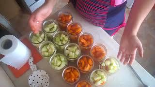 абрикосы и дыня в сахарной заливке на зиму
