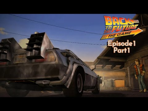 Back to the Future: The Game (PS3) - Ep 1: It's About Time - Part 1: Odd Controls