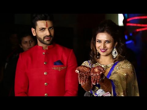Divyanka Tripathi And Vivek Dahiya Wedding Interview (Sangeet Ceremony)