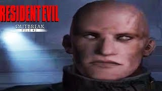 Resident Evil Outbreak: File #2 All Boss Intros and Death Scenes 1080p 60FPS