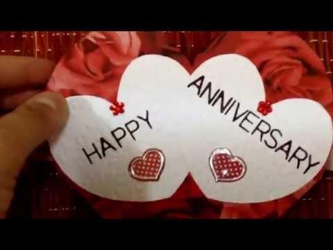 Anniversary love pop up card❤️❤️