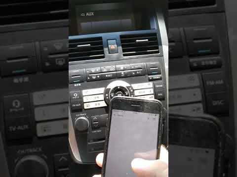 Nissan Teana J31 AUX звук как диск 📀