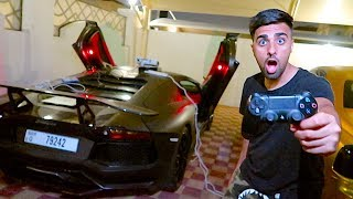 I made my Lamborghini into a Playstation controller !!!
