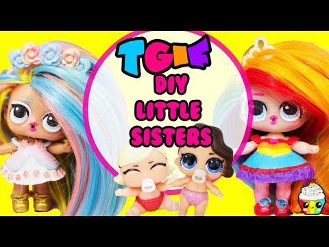 TGIF Show DIY Little Sister Little Pastel QT + Little Rainbow Queen
