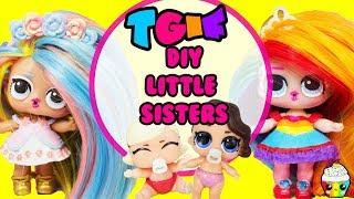 TGIF Show DIY Little Sister Little Pastel QT + Little Rainbow Queen