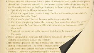 History of Christianity: Arianism Part 1