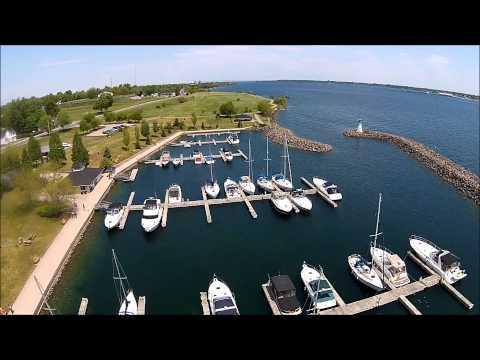 Sandra Lawn Harbour Marina & Park in Prescott, Ontario