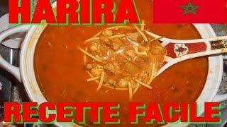 Harira Soupe Marocaine - Recette Facile - Cuisine Marocaine (ramadan Mubarak)