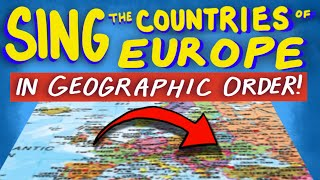 """Countries of Europe Song - From """"Tap the World!"""""""