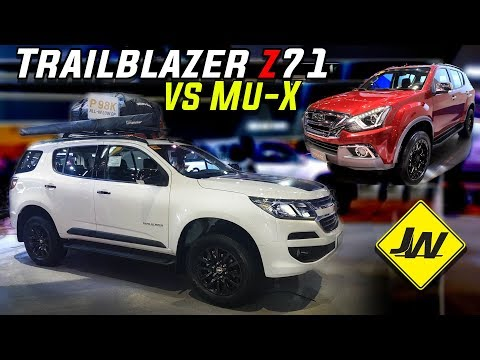 2019 Chevrolet Trailblazer Z71 4x4 review -Is it better than the Isuzu MuX LS-A 4x4? -Philippines