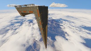 STRAIGHT DOWN RAMP MOD! (GTA 5 Mods Funny Moments)