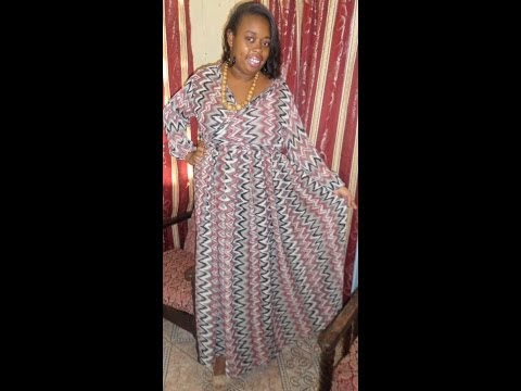 DIY-Flowing Chiffon Dress